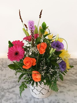Arrangements: Colourful posy